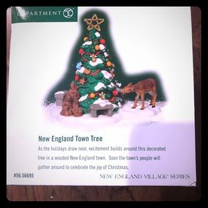 Dept 56 New England Town Tree